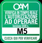 Verifica iscrizione OAM