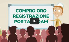VIDEO TUTORIAL REGISTRAZIONE COMPRO ORO